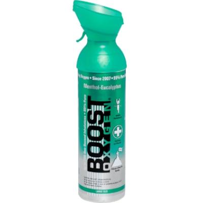 Boost menthol - eucalyptus zuurstof 9 liter