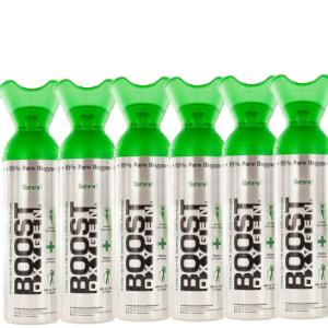 Boost zuurstof 6 pack