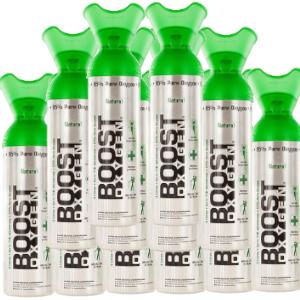 Aanbieding Boost zuurstof 12 x 9 liter naturel